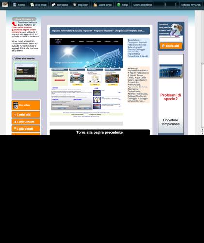 Impianti Fotovoltaici Ercolano Finpower - Finpower Impianti - Energia Solare Impianti Elet... Icone Siti Web Miniature - Thumbnails