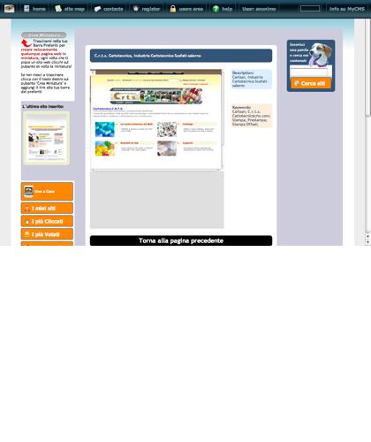 C.r.t.s. Cartotecnica, Industria Cartotecnica Scafati-salerno Icone Siti Web Miniature - Thumbnails