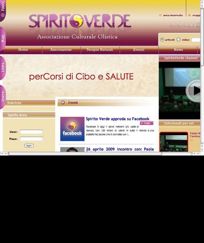Spirito Verde - Spiritoverde - Associazione Culturale Olistica