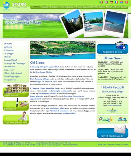 Il Camping Stork In Abruzzo è Un Campeggio A 4 Stelle Con Bungalow, Piscina, Mobilhome E Mini-appartamenti Con Spiaggia Sul Mare Adritatico A Roseto Degli Abruzzi (teramo)|