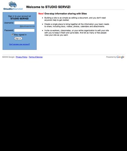 Studioservizi, Organizzazione Aziendale E Web Marketing
