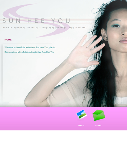 Sito Ufficiale Della Pianista Sun Hee You - Official Website Of Sun Hee You, Pianist