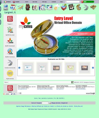 Mycms - Software Ecommerce In Italia Targnet -  - Servizio Professionale Di Gestione Dei Contenuti Dei Portali In Multisessione. Gestione Dei Servizi Di Ecommerce E Gateway Pagamenti.
