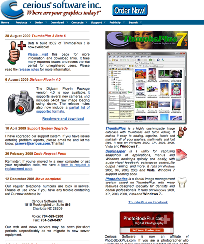 Cerious Software - The Home Of Thumbsplus!