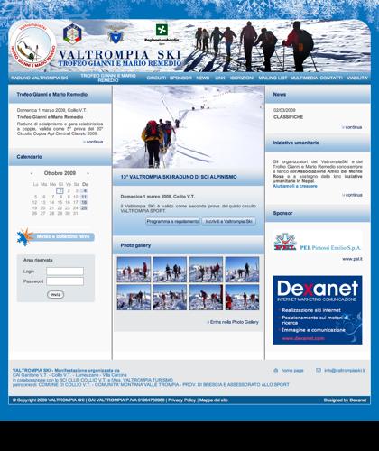 Valtrompiaski Raduno Di Sci Alpinismo - Trofeo Gianni E Mario Remedio Gara Scialpinistica