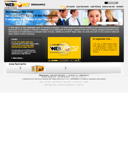 Web Point Seriate - Bergamo - Home Page