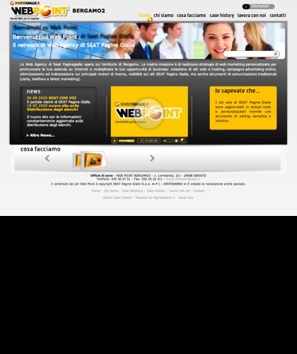 Web Point Seriate - Bergamo - Home Page