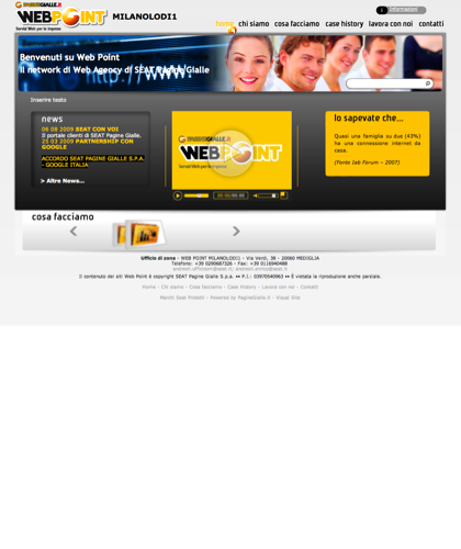 Web Point Mediglia E Milano - Home Page