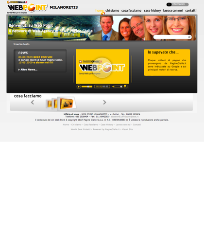 Web Point Monza - Home Page