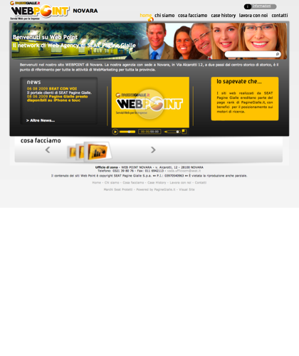 Web Point Novara - Home Page