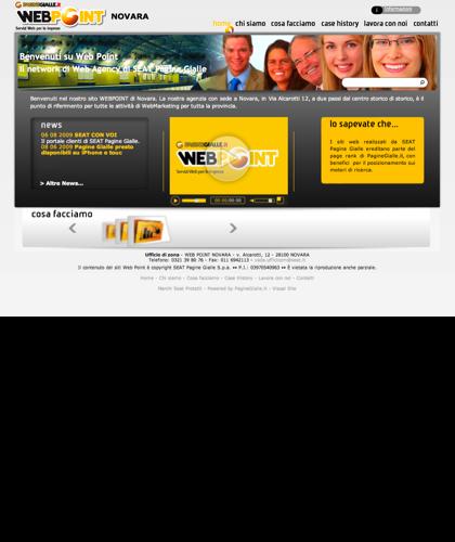 Web Point Novara - Home Page