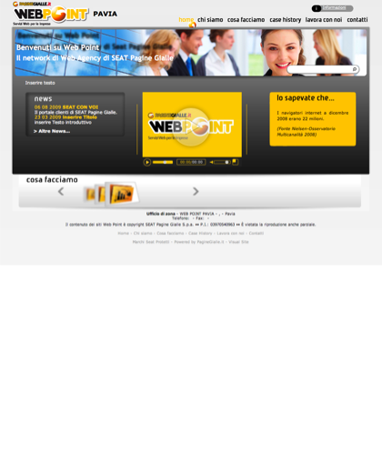 Web Point Pavia - Home Page