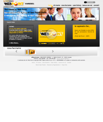 Web Agency Varese, Arcisate - Web Point Varese 1