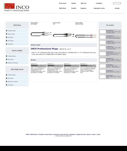 Cavi Audio - Strumentali - Microfonici - Casse - Bobine - Connettori - X-lead - Cavi Per Strumenti - Cavi Per Microfoni - Cavi Per Casse - Cavi In Bobine