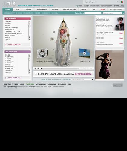 Moda & Design - Collezione Donna - Benvenuto In Yoox - Fondata Nel 2000