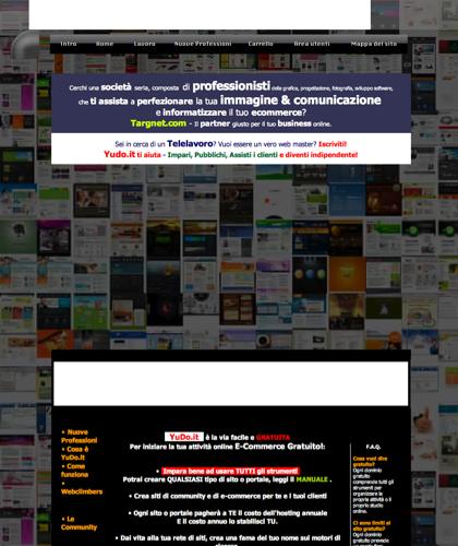 Yudo.it è Il Punto Di Incontro Tra Clienti E Progettisti, Designers, Illustratori, Grafici, Webmasters E Sviluppatori Di Software. Yudo.it è Stato Fondato Nel 2008 Da Un Team Di Progettisti Grafici, Programmatori, Illustratori E Webmasters, Vanta All'attivo Più Di 500 Aziende Servite Sul Tutto Il Territorio Italiano, Tutt'ora A...|Leganerd,  Telelavoro,  Lavoro,  Primi Su Google Gratuitamente,  Primi Posti Su Google Gratuitamente,  Primi Su Google Gratis,  Primi Posti Su Google Gratis,  You Do It,  Yudo It !,  Cms Ecommerce,  Sito Accessibile,  Mycms,  Portali Web,  Paypal,  Bankpass,  Siti ...